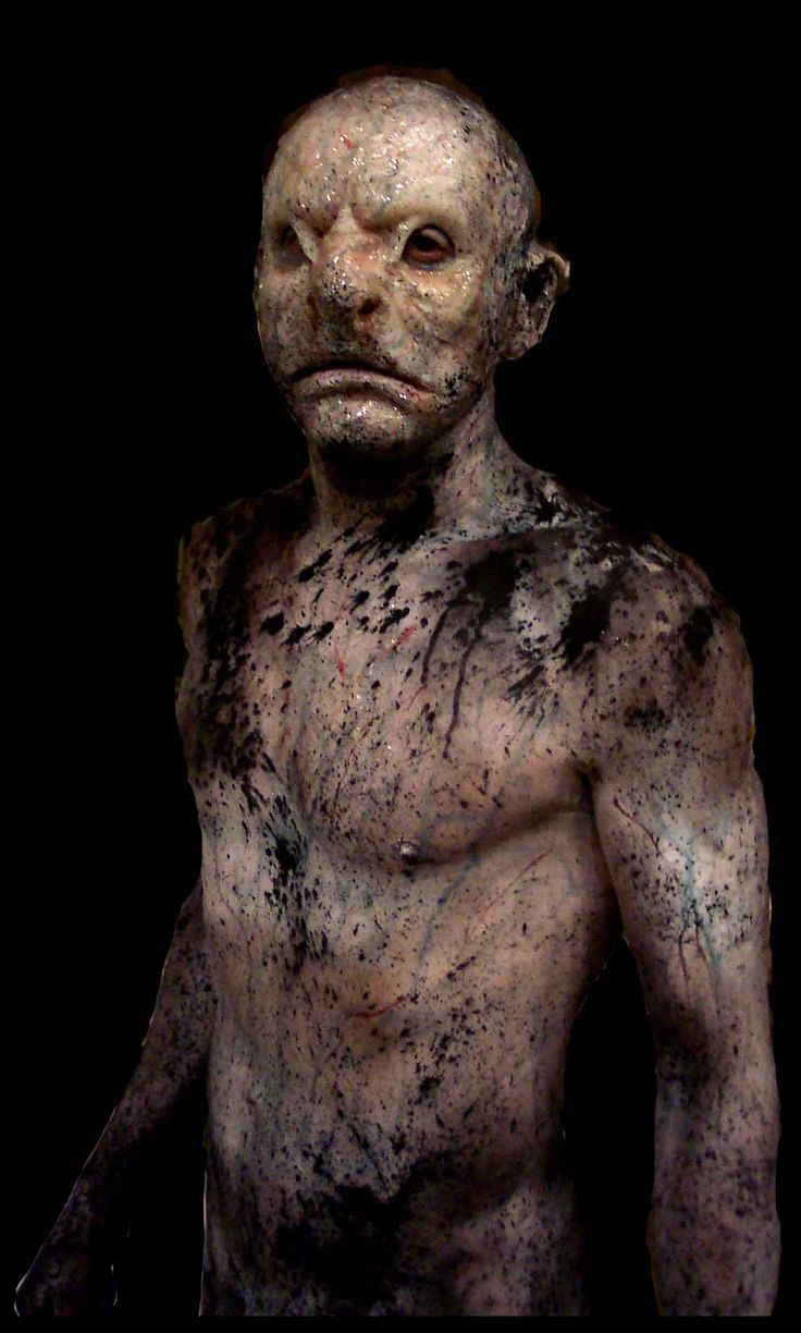 The Descent Creatures | On 'The Descent' Paul was the Special Make Up and Creature Effects ...