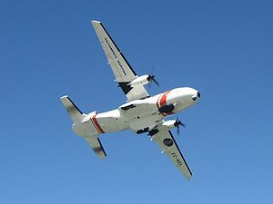 CASA CN-235-300 MP Persuader de la Sociedad de Salvamento y Seguridad Marítima de España.
