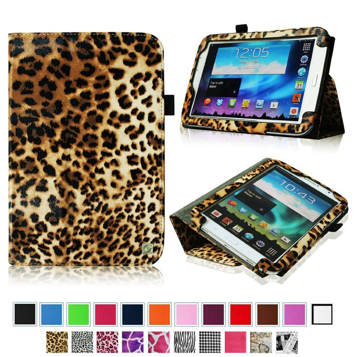 Fintie Slim Fit Folio Case Cover Support Automatic Sleep/Wake Feature for Samsung Galaxy Note 8.0 inch Tablet GT-N5100 / N5110 - Leopard Brown  http://www.amazon.com/Fintie-ClickBook-Hardback-Samsung-GT-N5100/dp/B00CKKM4MA/ref=sr_1_4?s=pc&ie=UTF8&qid=1382558469&sr=1-4&keywords=samsung+galaxy+tablet+3+8.0+case