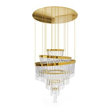Find the best and most luxurious chandelier inspiration for your next interior design project here