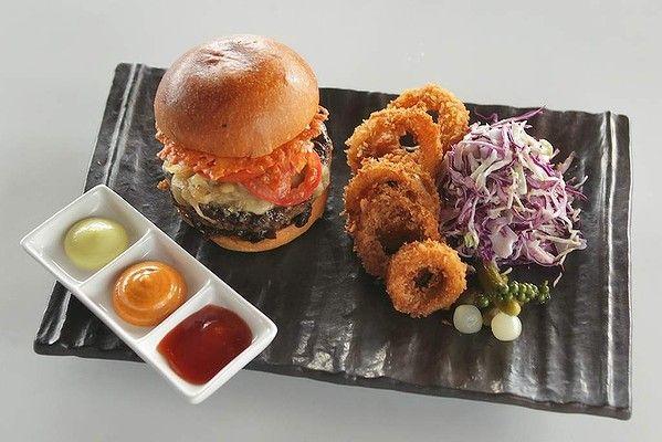 NSHRY's umami burger.