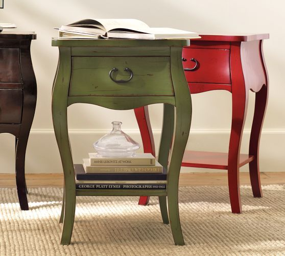 Rustic bedside tables home sweet home pinterest - Table de nuit wenge ...