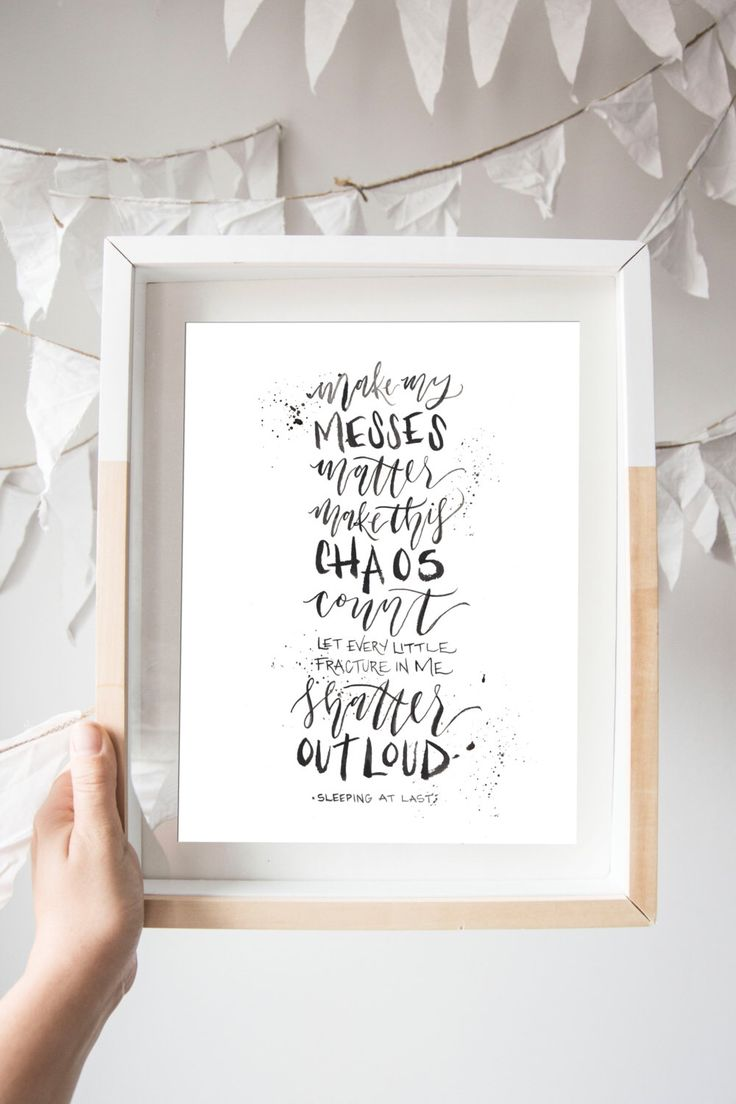 Messes Matter Print - NEPALI RELIEF PRINT - Sleeping at Last Lyrics by WinsomeEasel on Etsy https://www.etsy.com/listing/232138060/messes-matter-print-nepali-relief-print