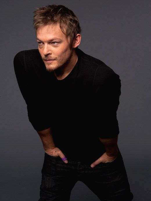 Norman Reedus - this is how hot he is...have you ever even thought about the fact that his name NORMAN? Norman...