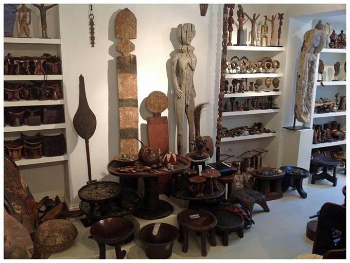 Owen Hargreaves Jasmine Tribal Art Gallery in London.