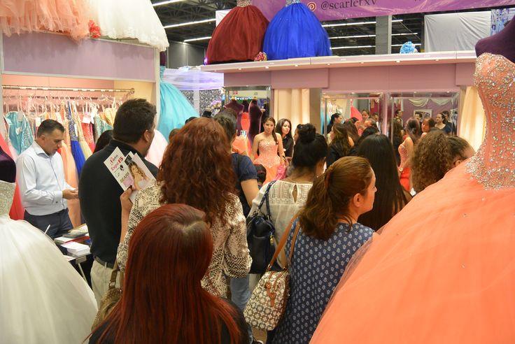 Muchas gracias a todas las quinceañeras que nos visitaron en Expo Espacio 15 Guadalajara, fue un placer atenderlas🔝. Las esperamos en tienda para comenzar con sus pruebas. Muchísimas felicidades a todas! 💃👯👗😍 #Scarlet