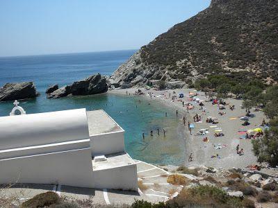 Greek Beaches Guide: Φολέγανδρος - Άγιος Νικόλαος, Folegandros - Agios Nikolaos