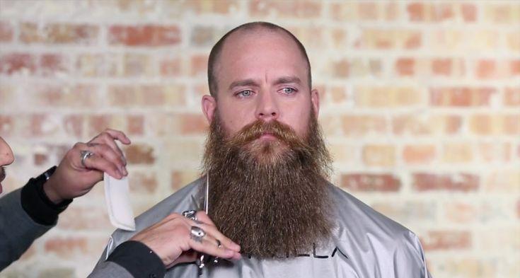 How To Trim a Beard / Sam Villa - Professionals
