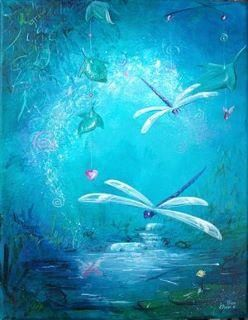 """Dragonfly, dragonfly...as a creature of the wind, the dragonfly represents change. As a creature of the water, they represent the subconscious, or """"dream"""" state.    ...prosperity, strength, courage, peace, harmony and purity."""
