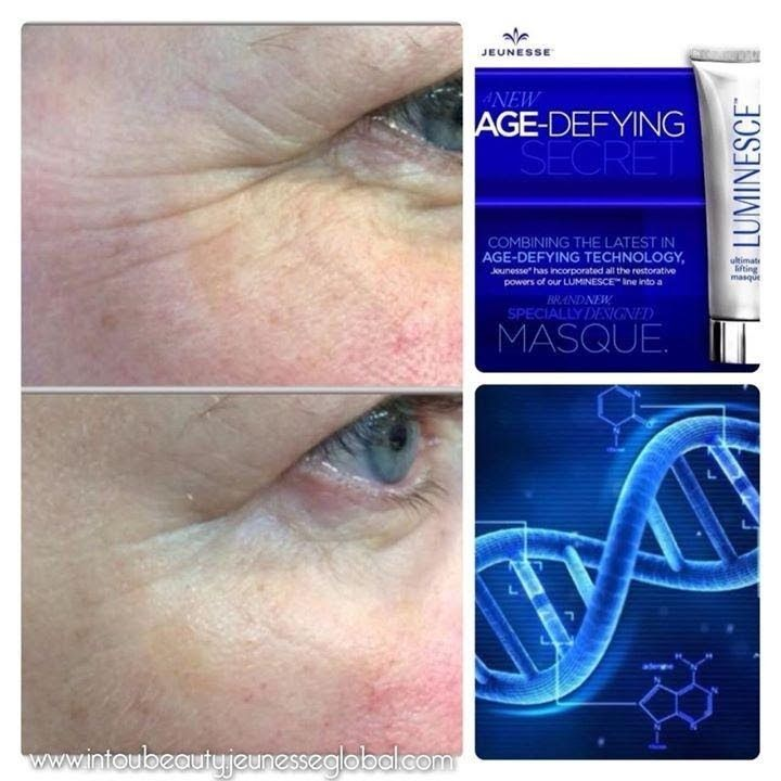 Jeunesse Global Luminesce - foto testimonianze... Like these results?? You can have them too by using the most advanced anti aging products on the market. Visit my website lcraigagenomore.juenesseglobal.com or my Facebook Leslie Locke Craig