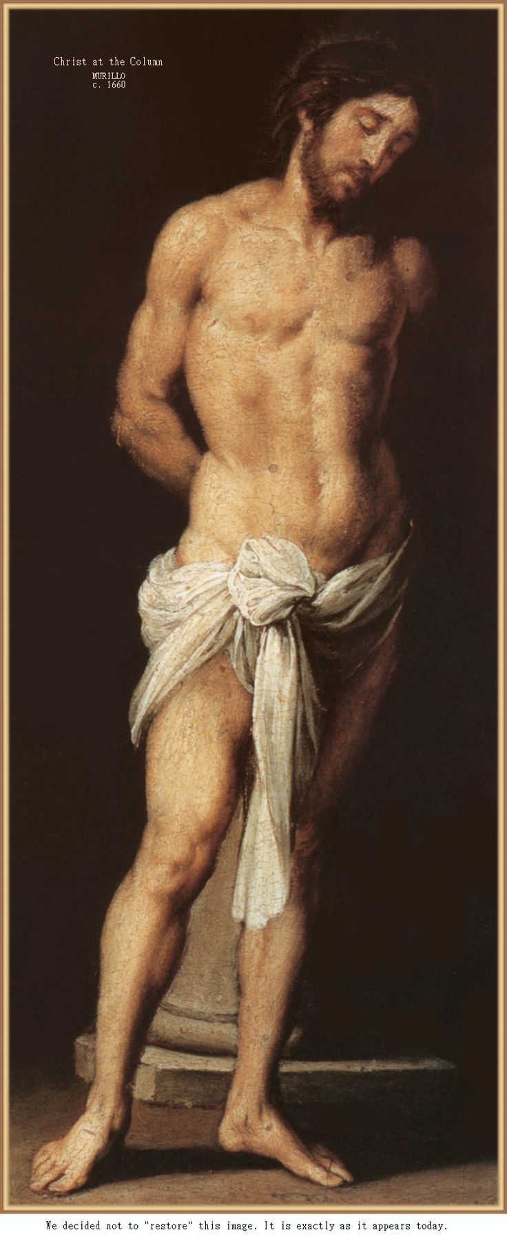 Christ at the Column, Murillo