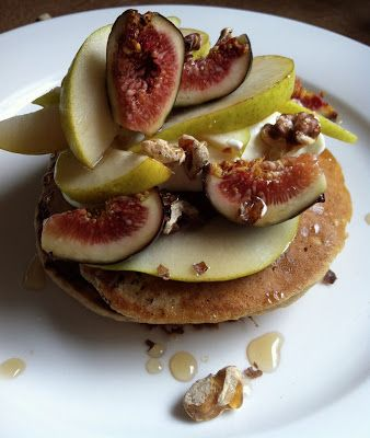 The Home Empress: Wholemeal Pear Pancakes