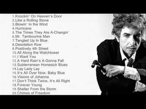 Bob Dylan Greatest Hits - The Best Of Bob Dylan Full Album 2014 - YouTube
