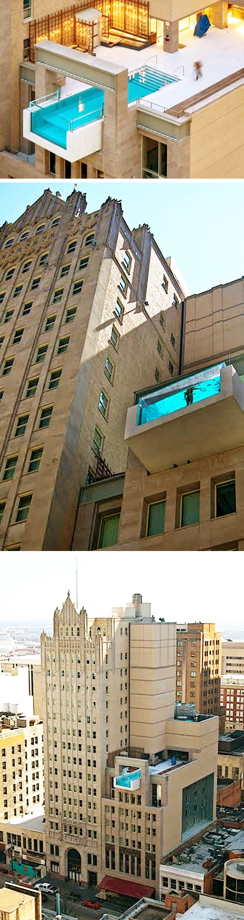 The joule hotel in dallas texas rooftop pool i want to for Pool design dallas texas
