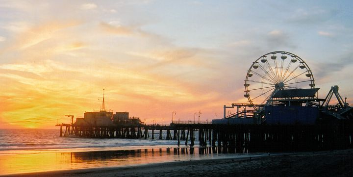 Santa Monica - California, miss it a lot, went there in middle school and need to go back soon.