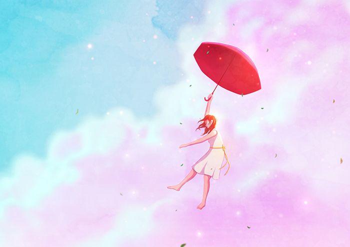 '더위를 몰아내듯 시원하게 불어오는  바람을 타고  가을로'