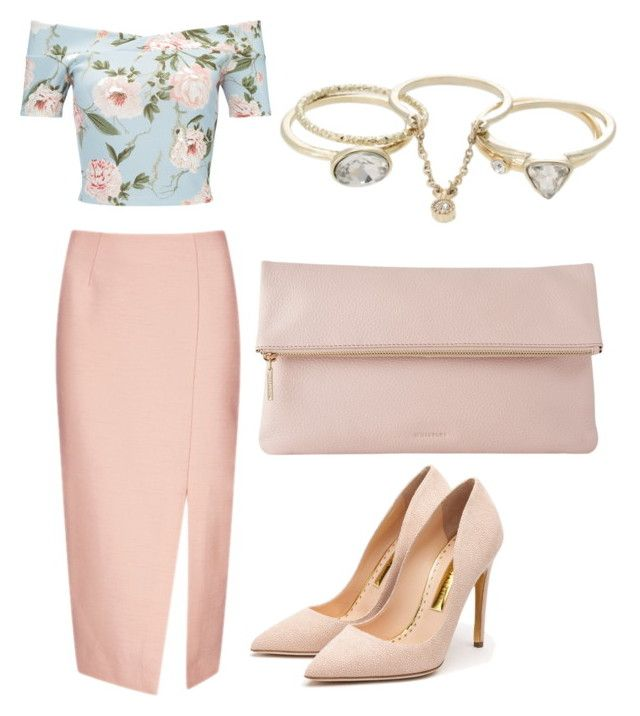"""Untitled #2"" by x-anna-a on Polyvore featuring Miss Selfridge, C/MEO COLLECTIVE, Rupert Sanderson, Whistles and Lipsy"