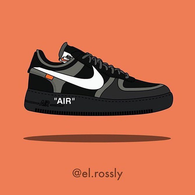 Offwhite Nike Basket Off White Sneakers Off White Sac Off White T Shirt Off White Pull Off En 2020 Illustration De Chaussure Dessin Chaussure Dessin Basket