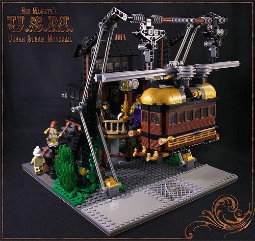 Steampunk LEGO. HOLLA!