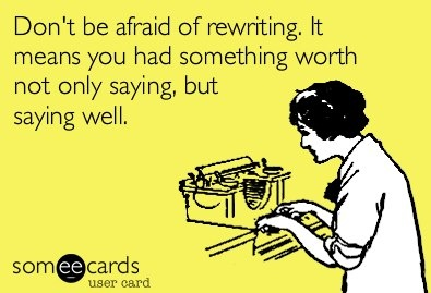 Writing well takes perseverance, but it's worth it!