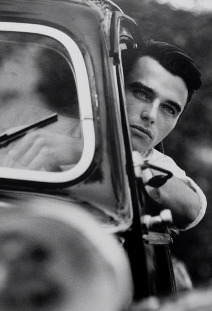 Montgomery Clift.  My grandmother loved him; my mother loved him, too; and I love him.  Talk about handsome!