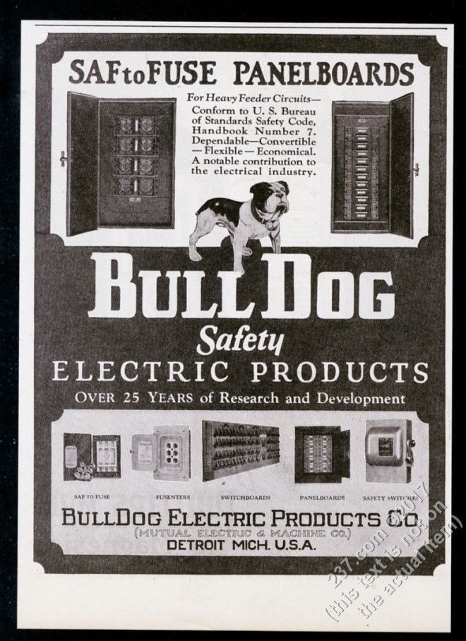 1928 bulldog art bull dog electric products fuse box etc photo1928 bulldog art bull dog electric products fuse box etc photo vintage print ad pinned by judi crowe
