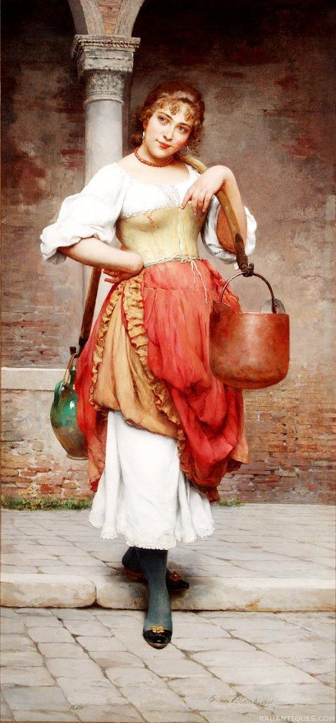 Universal Beauty, most probably a painting of Eugene de Blaas