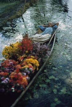Brian Brake, Srinagar, Kashmir, India