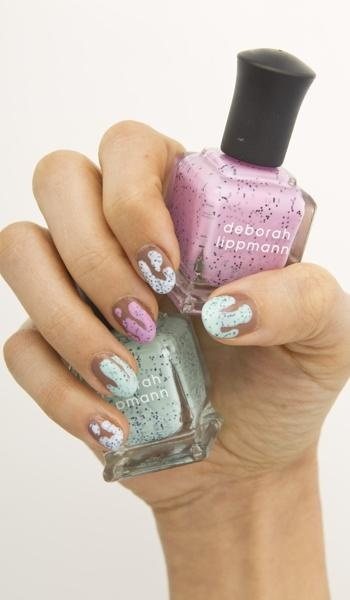 Gel mani alternatives: The ice-cream lover's dream manicure