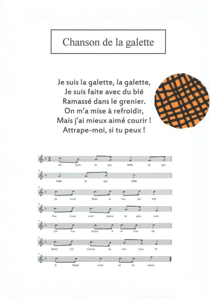 Chant roule galette