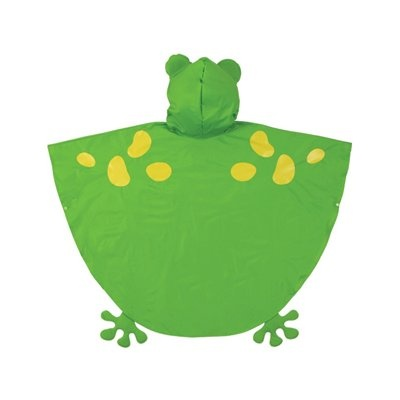 Quick costume idea - Frog Poncho