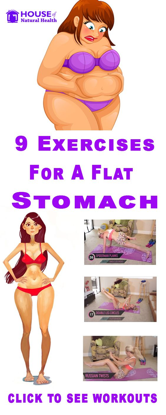 Best Exercises to Lose Stomach Fat at Home....