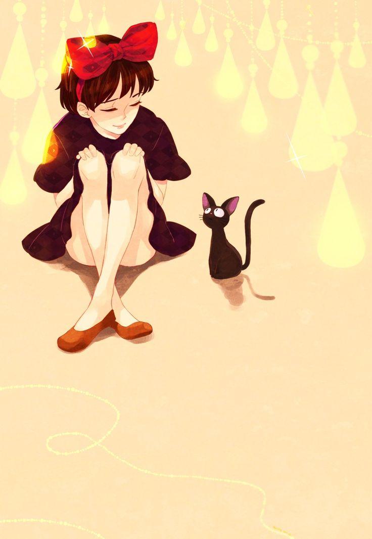 Kiki and Jiji by Misslfa.