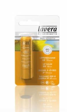 Lavera Φυτική/Οργανική Αντιηλιακή Φροντίδα για τα Χείλη SPF 10
