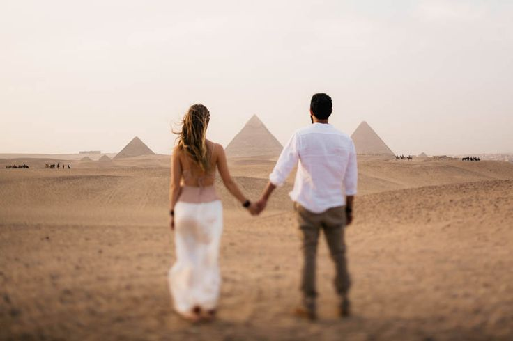 This Egyptian Wedding Adventure is Unlike Anything You've Ever Seen