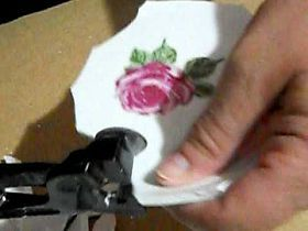 How to Cut Tiles From Dishes for Mosaic Art