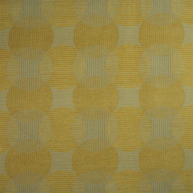 Warwick Fabrics : CIRRUS LEMON