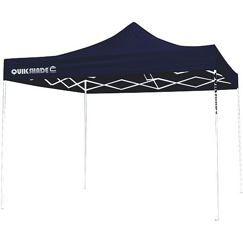 QuikShade Ultra Compact 10x10 Straight Leg Canopy (Blue Top / White Frame) (00085955067124  sc 1 st  Pinterest & 25 best Tents by Heather R. images on Pinterest | Canopies Shade ...