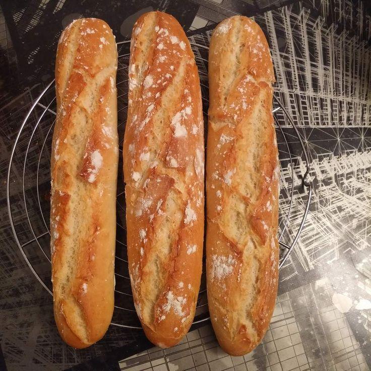 Baguettes croustillantes et légères au companion