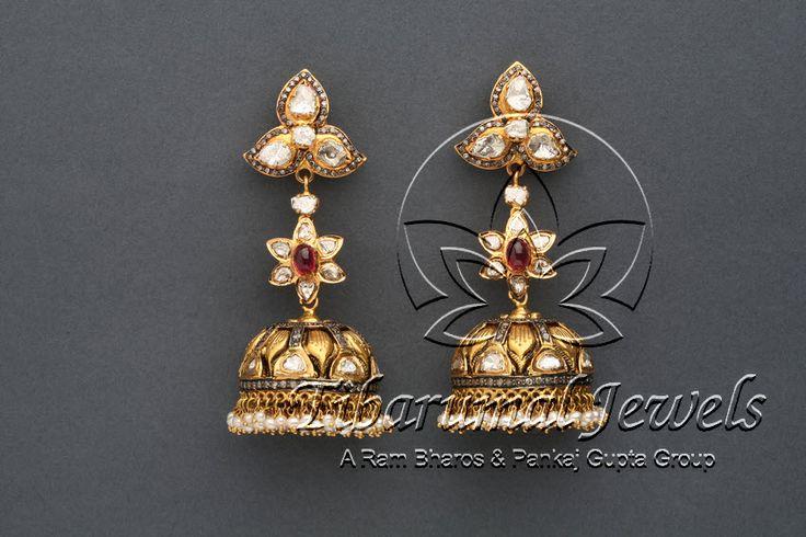 Jhumka | Tibarumal Jewels | Jewellers of Gems, Pearls, Diamonds, and Precious Stones