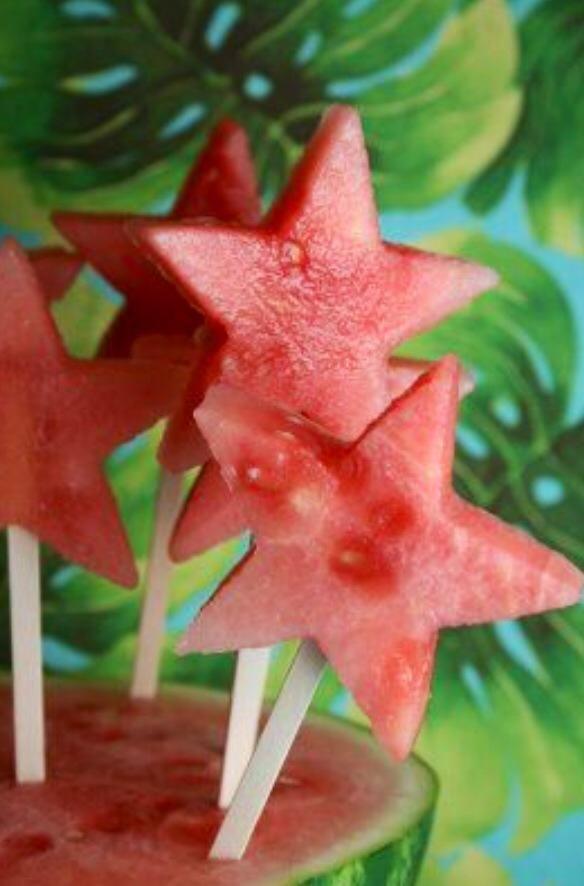 melancia em estrela