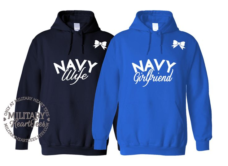 Custom Navy Sweatshirt, Military Shirt for Wife, Fiance, Girlfriend, Mom, Sister, Army, Air force, Marine by MilitaryHeartTees on Etsy https://www.etsy.com/listing/207290984/custom-navy-sweatshirt-military-shirt