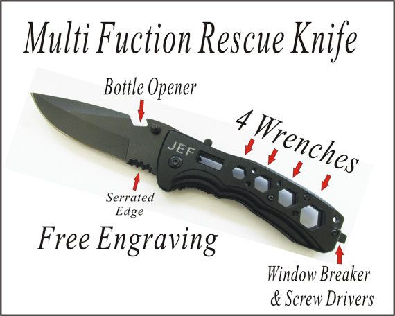 1 PERSONALIZED Knife Groomsman Gifts Custom by Thingscustomized