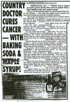 "This old news article got lost (maybe on purpose by ""the powers that be"") but now it's back! Jim Kelman is considered a legend in the alternative health field. Here's why... http://www.life-saving-naturalcures-and-naturalremedies.com/natural-cures-for-prostate-cancer-baking-soda-remedy.html"