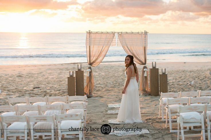 Queensland Brides Magazine - Beach Wedding Coastal Chic ~ Currumbin Beach, Gold Coast Wedding Photography - www.chantillylacephotography.com.au