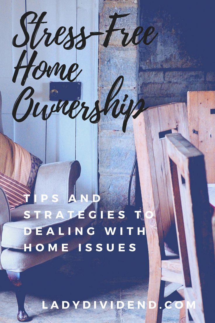 Learn how to avoid stress when you feel like your home is a money pit.   http://ladydividend.com/housing-money-pit-part-two/  #realestate #house #home