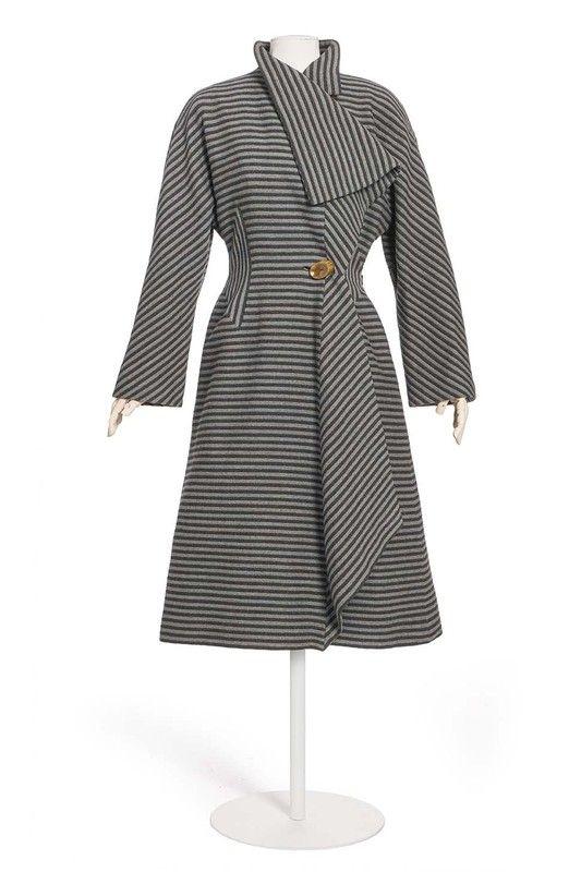 manteau  Martial et Armand , maison de couture, Paris, 1935 (vers)