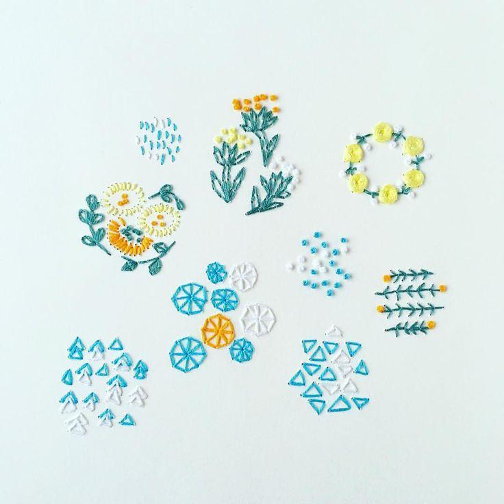 いいね!575件、コメント9件 ― annas/アンナスさん(@annastwutea)のInstagramアカウント: 「『5つのステッチでできるannasの刺繍工房』(日本文芸社)の中からサンプラー。 紙刺繍ですが、題名の通り5つのステッチだけでできます☆…」