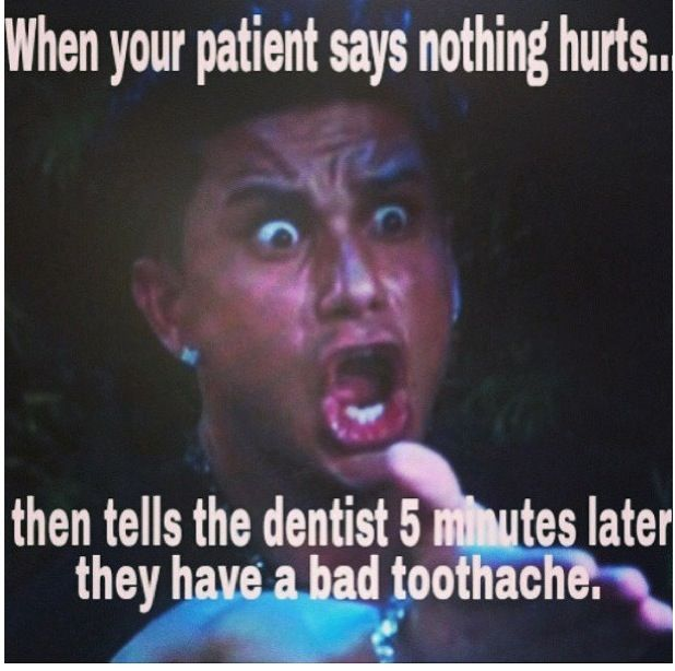 """Then dr stares at you like """"wtf didn't you take an x-ray?"""""""