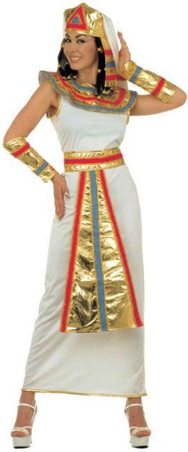 Cleopatra Kostüm weiss-gold-rot , günstige Faschings  Kostüme bei Karneval Megastore, der größte Karneval und Faschings Kostüm- und Partyartikel Online Shop Europas!